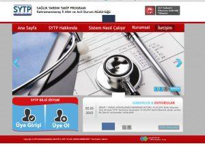 Sağlık Yardım Takip Programı